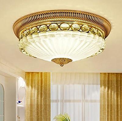 Jingzou Bedroom round European LED aisle entrance lights Jane Europe living room ceiling lamps