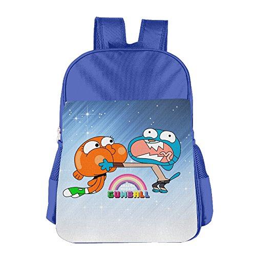 FUOALF The Amazing World Of Gumball Brother Kids Children Boys Girls Shoulder Bag School Backpack (Ratchet Costume)