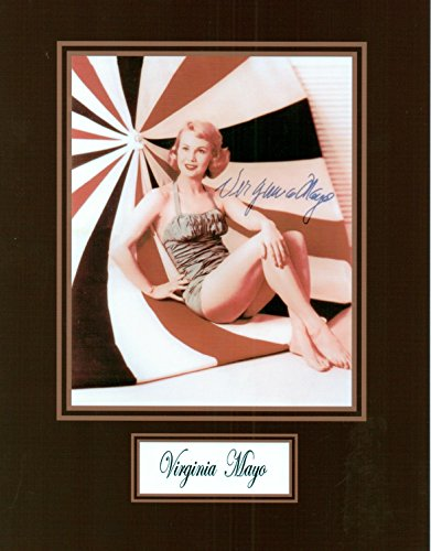 Virginia Mayo 8 X 10 Photo Autograph on Glossy Photo Paper