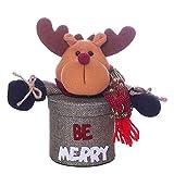 Christmas Tree Decorations, Jchen(TM) Happy Year Christmas Child Kids Christmas Candy Jar Storage Bottle Santa Bag Sweet Christmas Box Gift (B)