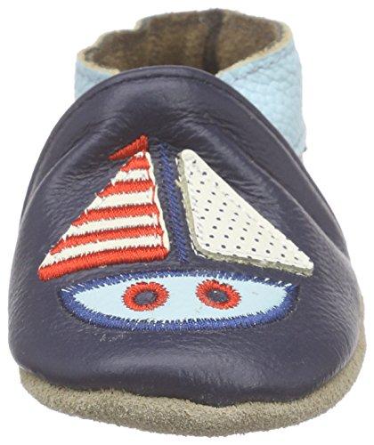 Rose & ChocolatSailboat - pantuflas Bebé-Niñas Azul - azul (marino)