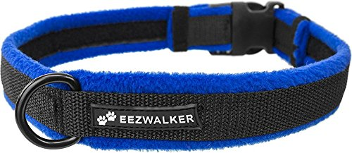 EEZWALKER Fleece Dog Collar (Lg (17