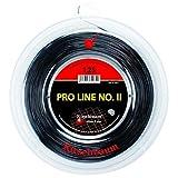 Kirschbaum Reel Pro Line II Tennis String, Black, 1.30mm/16-Gauge