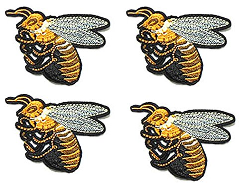 BEE cartoon kid Patch Embroidered DIY Patches, Cute Applique Sew Iron on Kids Craft Patch for Bags Jackets Jeans Clothes