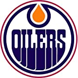 "Edmonton Oilers NHL Hockey Car Bumper Sticker Decal 5"" x 5"""