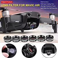 DZT1968 Filter Antiglare Protective Function MCUV Cpl ND4 ND8 ND16 ND32 Filter For DJI Mavic Air