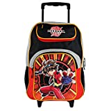 "Bakugan Battle Brawlers 16"" School Rolling Backpack Bag"