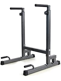 Amazon Com Dip Stands Strength Training Equipment