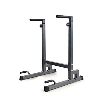 amazon com livebest heavy duty dip stand parallel bar strength