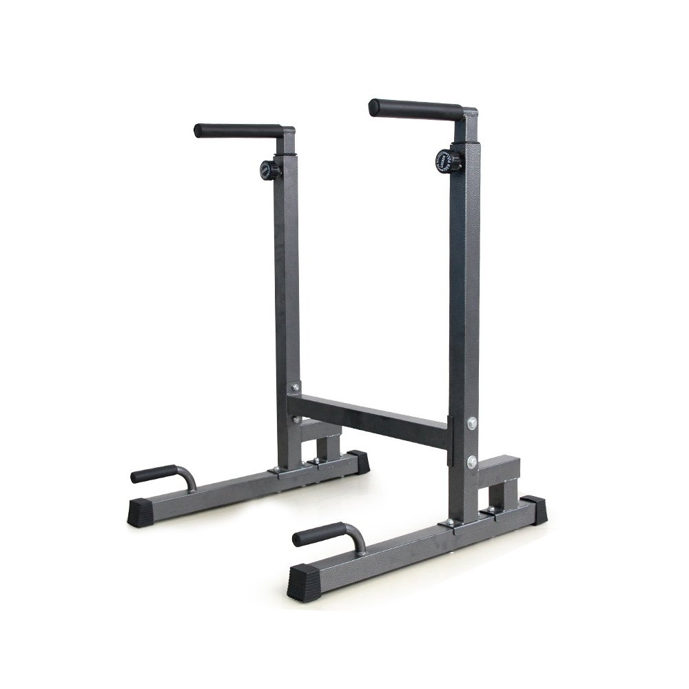 Livebest Heavy Duty Adjustable Power Tower Multi-Function Strength Training Dip Stand Workout Station Fitness Equipment for Home Gym