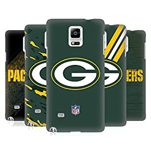 Official NFL Green Bay Packers Logo Hard Back Case for Samsung Galaxy Note 4