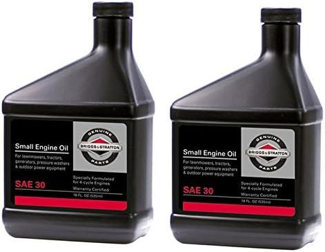 Amazon.com: Briggs and Stratton - Juego de 2 aceites de ...