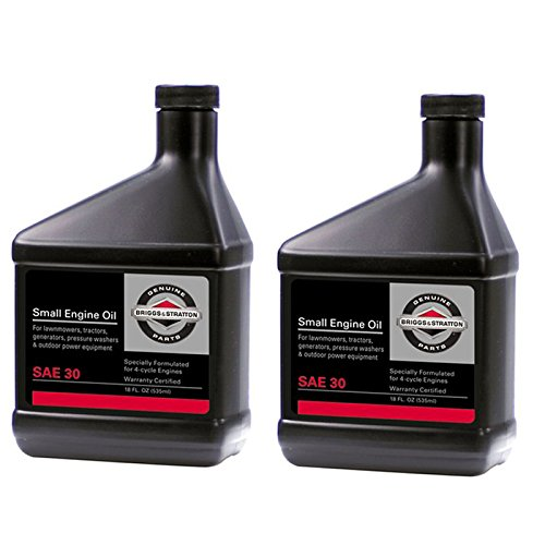 (Briggs and Stratton 2 Pack of Genuine OEM Replacement Oil # 100005-2PK)