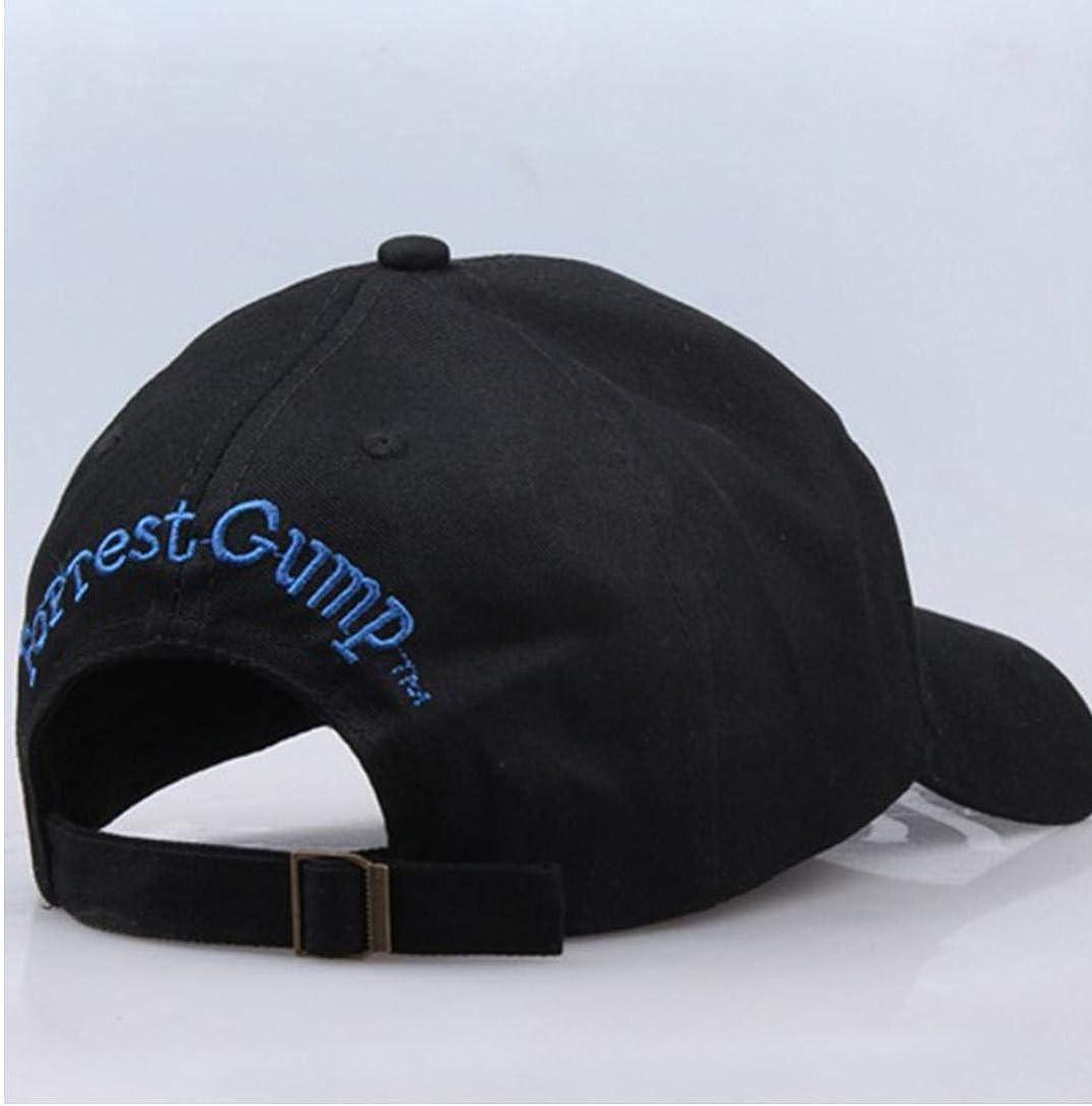 Negro AMOYER B/éisbol Ajustable Del Casquillo De Bubba Gump Shrimp Bordados Snapback Sombrero De Sol Deportes