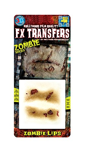 Tinsley Transfers FX Transfers Zombie Lips Makeup ()