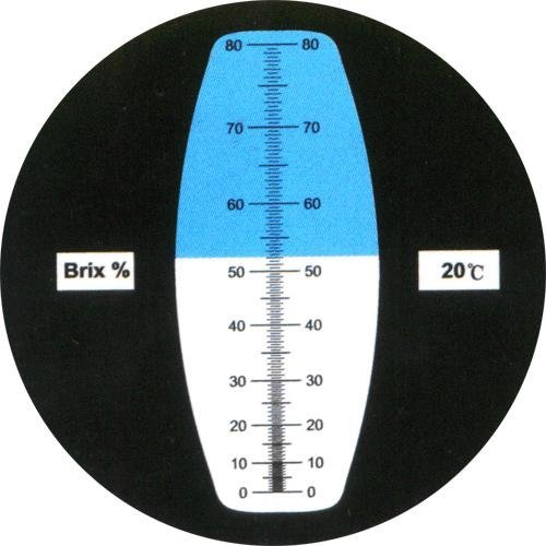 RHB-080ATC 0-80% Brix Maple Sap and Syrup Refractometer