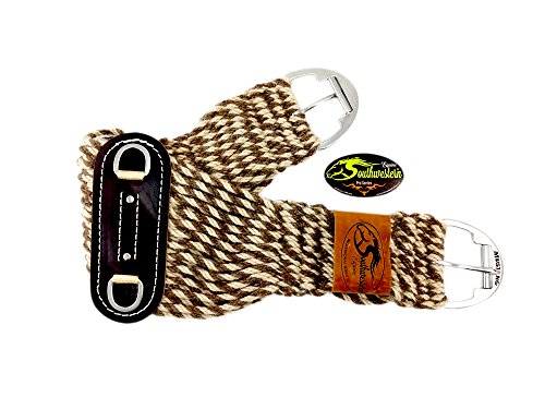 "100% Alpaca and Mohair Twist Roper Cinch (28"")"