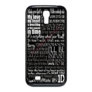 SamSung Galaxy S4 I9500 2D Custom Hard Back Durable Phone Case with One Direction Image