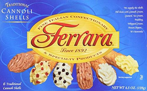 Mini Cannoli Shells - Ferrara - Cannoli Shells, (3)- 4.5 oz. Boxes