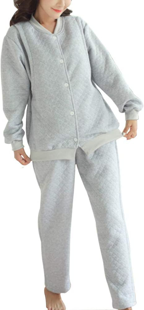 La lactancia materna pijamas de lactancia, Gruesos acolchados ...