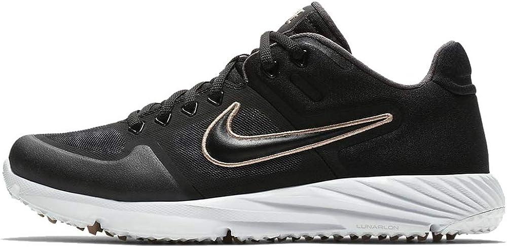 Turf Softball Cleats (Black/Gold
