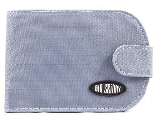 Big Skinny Women's Taxicat Bi-Fold Slim Wallet, Holds Up to 25 Cards, Ocean (Big Skinny Wallet)