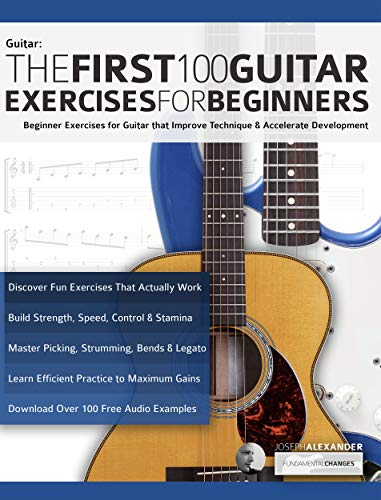 First 100 Guitar Exercises Beginners ebook product image