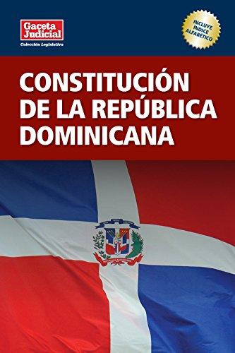 Descargar Libro Constitución De La República Dominicana Fabio J. Guzmán Ariza