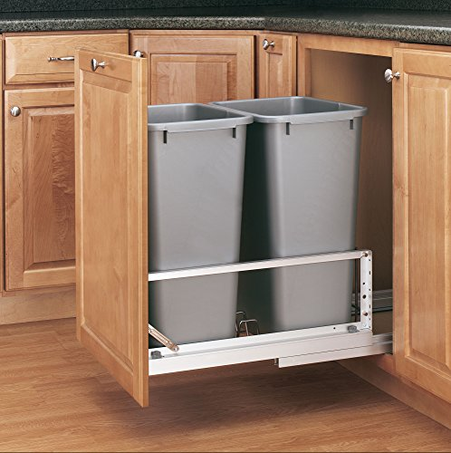in cabinet garbage can - 4