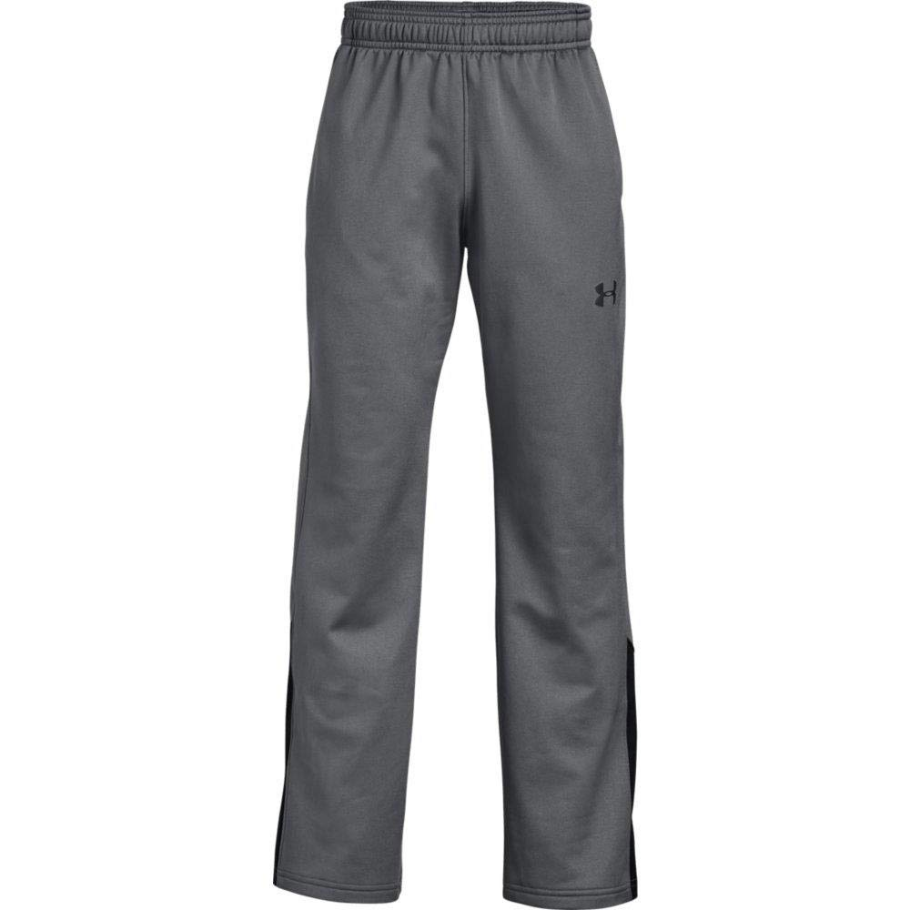 Under Armour Boys' Brawler 2.0 Pants, Graphite/Black, Youth X-Large Under Armour Apparel 1331693