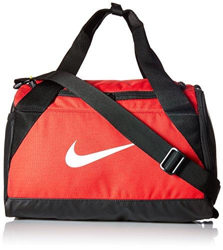 - NIKE Brasilla Extra Small Duffel Bag University Red/Black/White