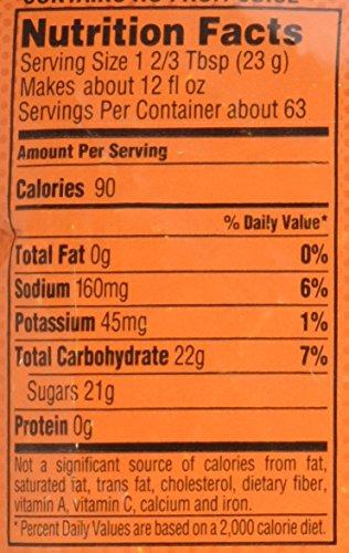 Gatorade Thirst Quencher Powder, Fruit Punch, 51 Ounce Pouch, Makes 6 Gallons/Pouch, 14 Count by Gatorade (Image #1)