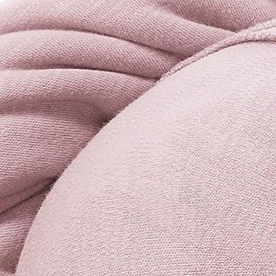 manduca SLING Fular Portabebes > Rose < Fular Portabebes Elastico con Certificado GOTS, Calidad Ecológica, Algodón Orgánico, Para Recien Nacidos y Bebes Pequeños 3,5-15kg (rosado, 5,10m x 0,60m): Amazon.es: Bebé