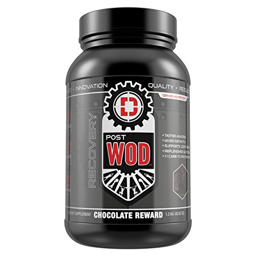 POST WOD- The Ultimate Post Workout Recovery Formula (Chocolate Reward): Recover faster and build more muscle with the most complete post workout formula available