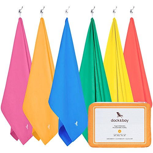 Microfiber Towel - Active & Yoga (Orange - Extra Large 78x35