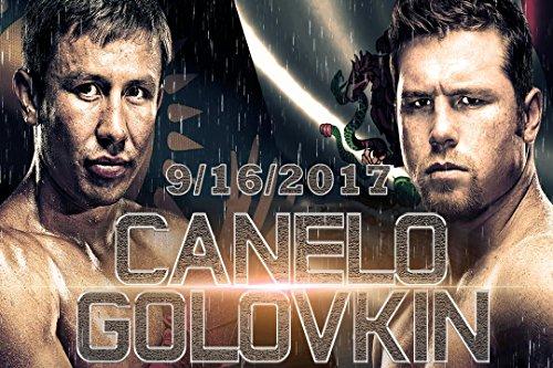 Canelo Vs. Golovkin Fight poster