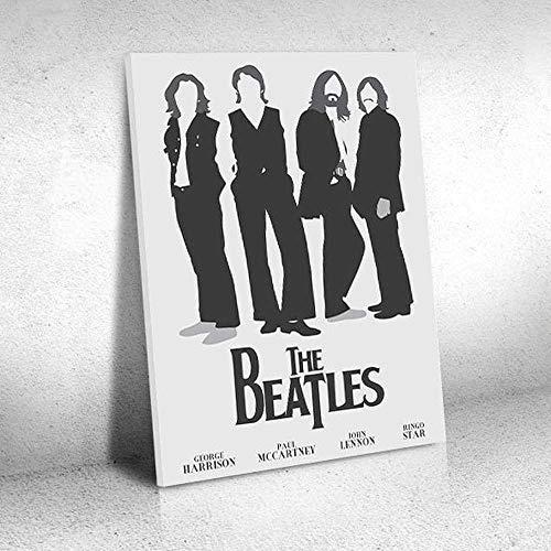 Quadro Decorativo - The Beatles (5) - Quadro 30x40