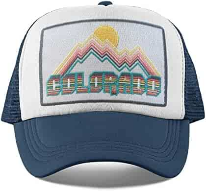 78e9f108f3a1b Colorado Kids Hat - Retro Infant Hat Baby Hat Toddler Colorado Trucker Hat