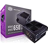 Cooler Master MWE 80Plus White 650W 230V 80Plus Single +12V Rail Silent Mode DC-to-DC Power Supply - Black - MPE-6501…