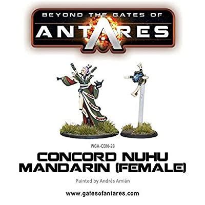 Beyond The Gates Of Antares, Concord Nu-hu Mandarin (female) by Agd