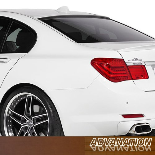 10-14 F01 F02 7-Series Stick On Glass Roof Rear Spoiler Wing Primer - Series 7 Spoiler Roof
