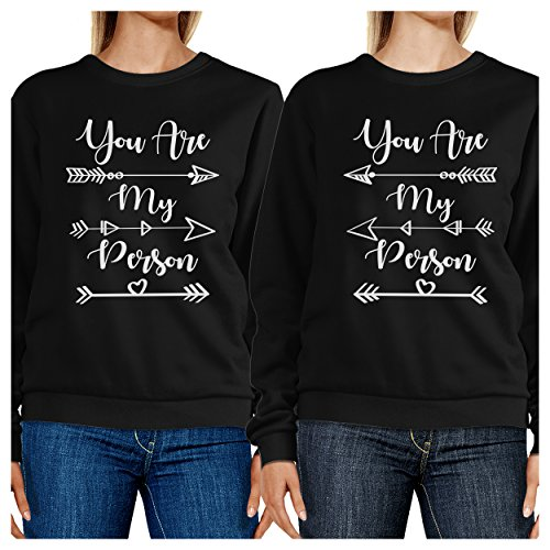Manches 365 Unique Printing Longues Person Sweat Femme You shirt My Taille Black Are prZSr