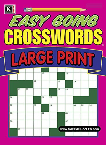 Best Price for Easy Going Crosswords - Large Print Magazine Subscription