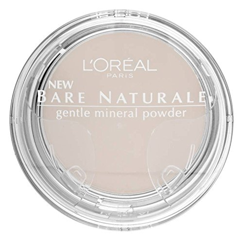L'oreal Paris Bare Naturale Gentle Mineral Powder Soft Ivory 408 (Loreal Compact Naturale Bare)