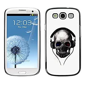 GagaDesign Phone Accessories: Hard Case Cover for Samsung Galaxy S4 - Skull Beats by icecream design