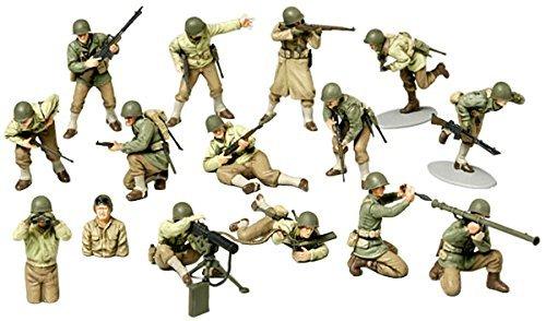 Tamiya 1//48 MM Series WWII America Infantry GI set Japan