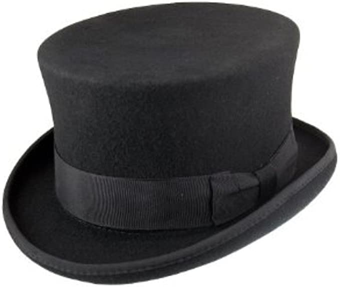 Christies TOP HAT 100/% laine Ascot Steampunk Formal Wear Différentes Tailles