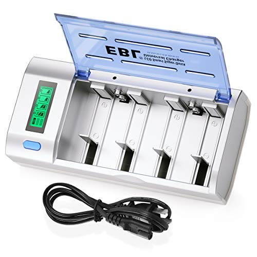 EBL Smart Battery Charger for C D AA AAA 9V