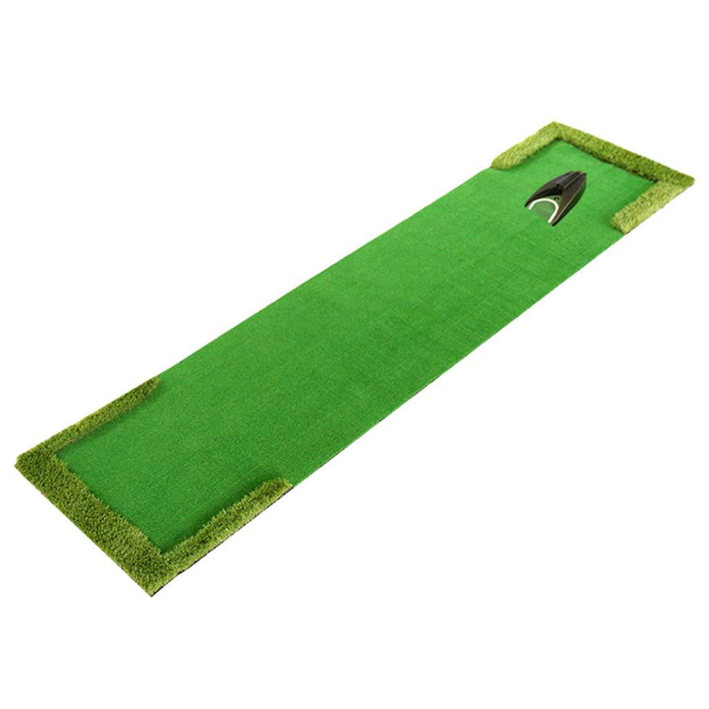 ゴルフパットマット| 自動ボールリターンパットマット| 屋内/屋外ゴルフトレーニング機器練習用マット| スポーツゴルフトレーニング芝マット - 58 x 300CM   B07JCYNHK8