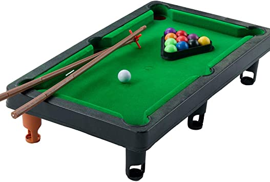 1PC Mini Mesa Pool Grupo Pequeño Juegos De Billar Incluye ...